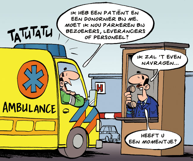 Cartoon: ambulance