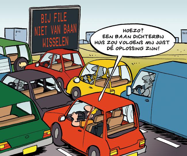Cartoon: van baan wisselen