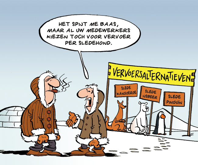 Cartoon: alternatieven
